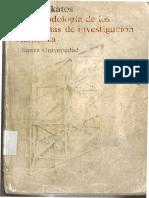 Lakatos - La metodología de los programas de investigación científica