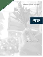 Progress PI1310X Masina Spalat Vase Manual de Utilizare
