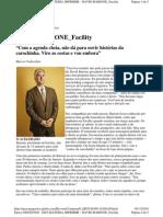 Matéria Época Negócios - Líder ou Chefiota? Caso de David Barione