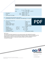 Nitric Acid 60 Pr - Product Data Sheet