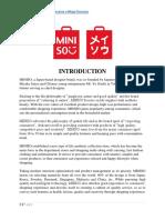 Case Study - Miniso