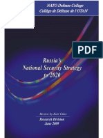 Rus Nat Sec Strategy to 2020