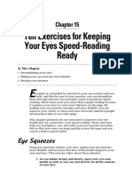 10 Exercises for Speed Reading