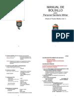Manual de Bolsillo Para Personal Sanitario Militar