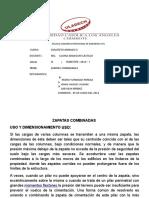 Zapatas Combinadas Informe