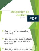 Resolucion de Conflictos 1