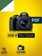 Folheto - Brochura Nikon D3100