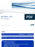 ISO 9000-2015 DEFINITION