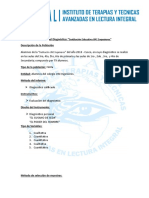 Informe Para Colegios