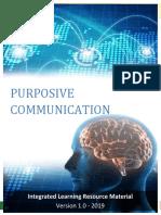 purposive communication