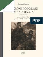 Canzoni Popolari Vol. II - Sardegna Cultura