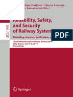 Reliability, Safety, And Security of Railway Systems