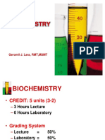 01. Introduction to Biochemistry