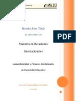 Interculturalidad y Procesos Globalizados de Desarrollo Educativo - Ensayo