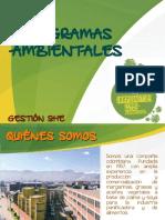 Programas Ambientales SDA 2019