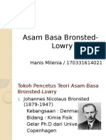 Asam Basa Bronsted Lowry