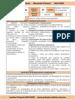 Septiembre - 5to Grado Español (2019-2020)