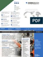 Sigma Design - Brochure