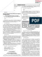 RESOLUCIÓN MINISTERIAL No 310-2019-MINAM