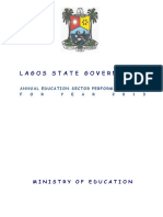 Lagos ministry of education