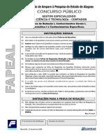 2006 - FAPEAL - Prova_gect_contador