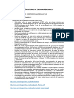 Revisión Entorno Energias Renovables en Colombia