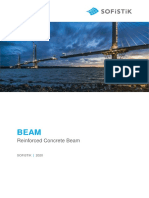 Beam-Reinforced Concrete Beam