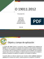 ISO 19011 del 2012