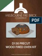 D130+PreCut+Brick+Oven+Kit+Plans