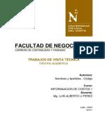 Visita Técnica a Hospital - Upn _costos 1- 2019-1