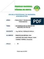 Informe 03 de Poscosecha