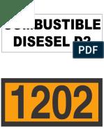 Combustible Señal