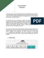 Plan Contingencia II 2019 Auditoria
