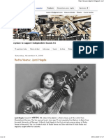 Prepared Guitar Jyoti Hegde Rudra Veena