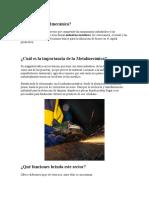 Qué Es La Metalmecánica