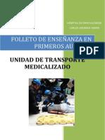 unidad de transporte medicalizado
