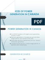 SOURCES OF POWER GENERATION IN CANADA.pptx