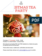 1. Christmas Tea Party Flier 2019