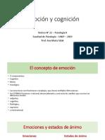 2019.Teórico 22.Emoción y Cognición