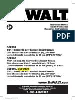Dewalt Impact Manual