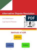 Module 9- Alternative Dispute Resolution