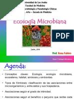 CLASE MED 2do Ano Tema 2_Ecologia Microbiana RF 11062018