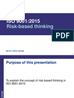 ISO9001Risk Based Thinking