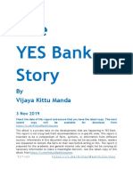 The YES Bank Story 20191103