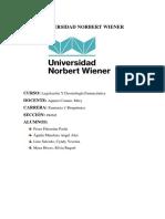 Universidad Norbert Wiener Tarea Ldf