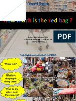 Unit 6 - How Much is the Red Bag