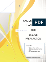 Communication Hand Note for EEE Job Preparation