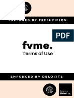 FVME Terms of Use