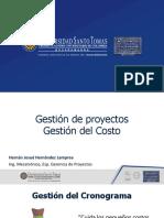 Gestión de Costo - Presentación