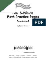 261645264-Fun-5-Minute-Math-Practice-Pages-Grades-6-8.pdf